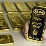Слитки золота в Сбербанке