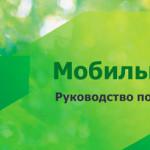 Руководство пользователя Мобильного банка